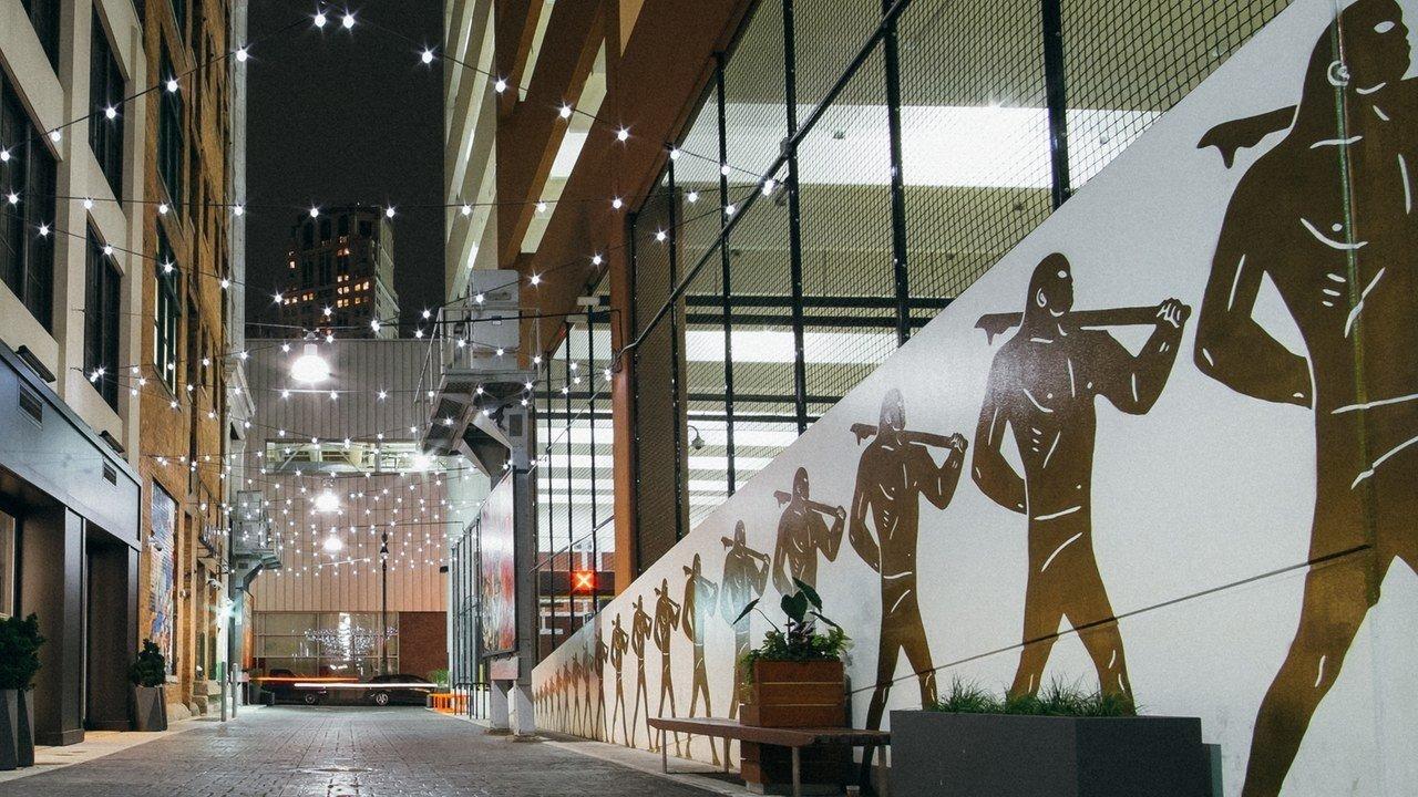 Detroit Influencers + Tastemakers Trip Ideas Architecture structure tourist attraction building Lobby interior design facade window