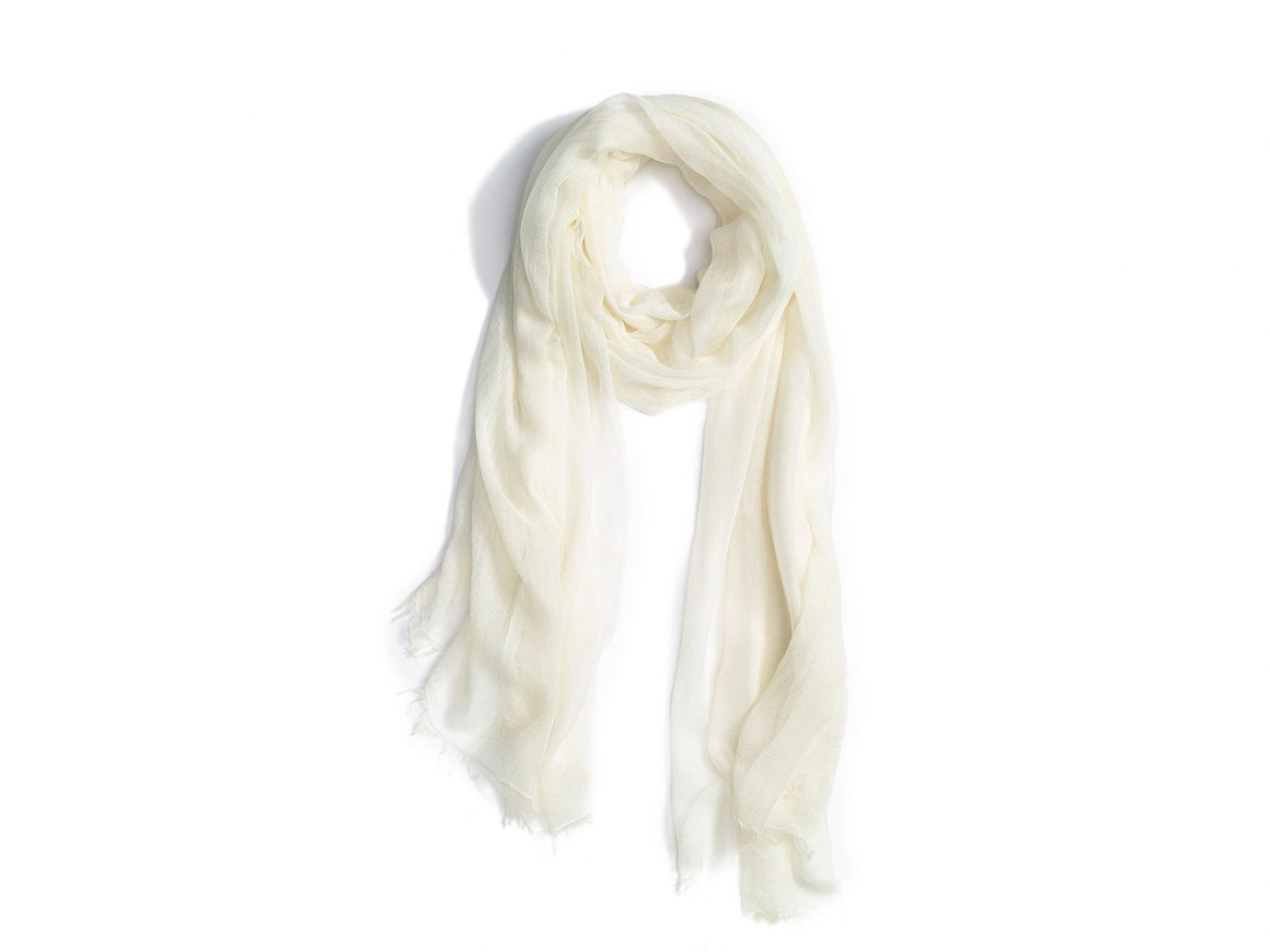 Japan Packing Tips Style + Design Travel Shop white scarf stole neck silk