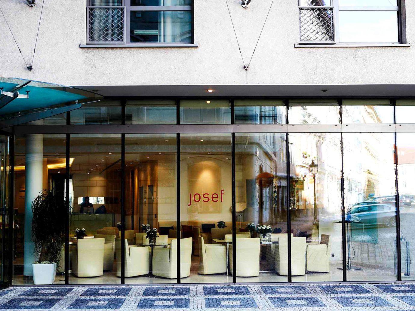Bar Dining Drink Eat europe Hotels Modern Prague building Architecture facade interior design Design retail