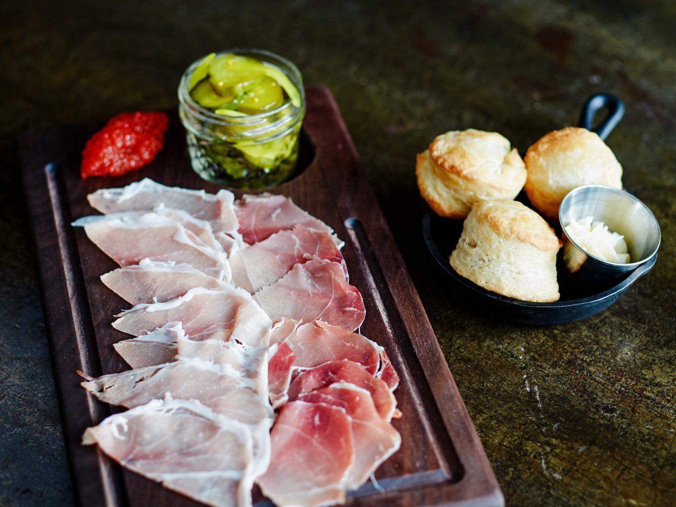 Romance Trip Ideas Weekend Getaways food dish meal meat produce fish cuisine sliced several