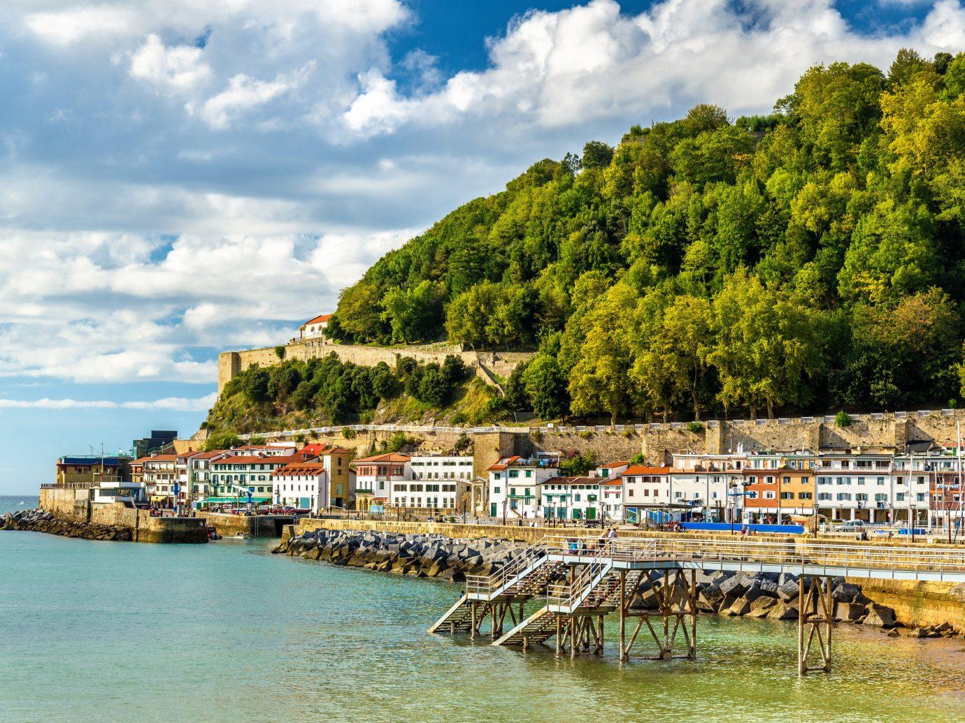 europe Spain Trip Ideas body of water sky Sea Coast water tree bay cloud tourism promontory Ocean