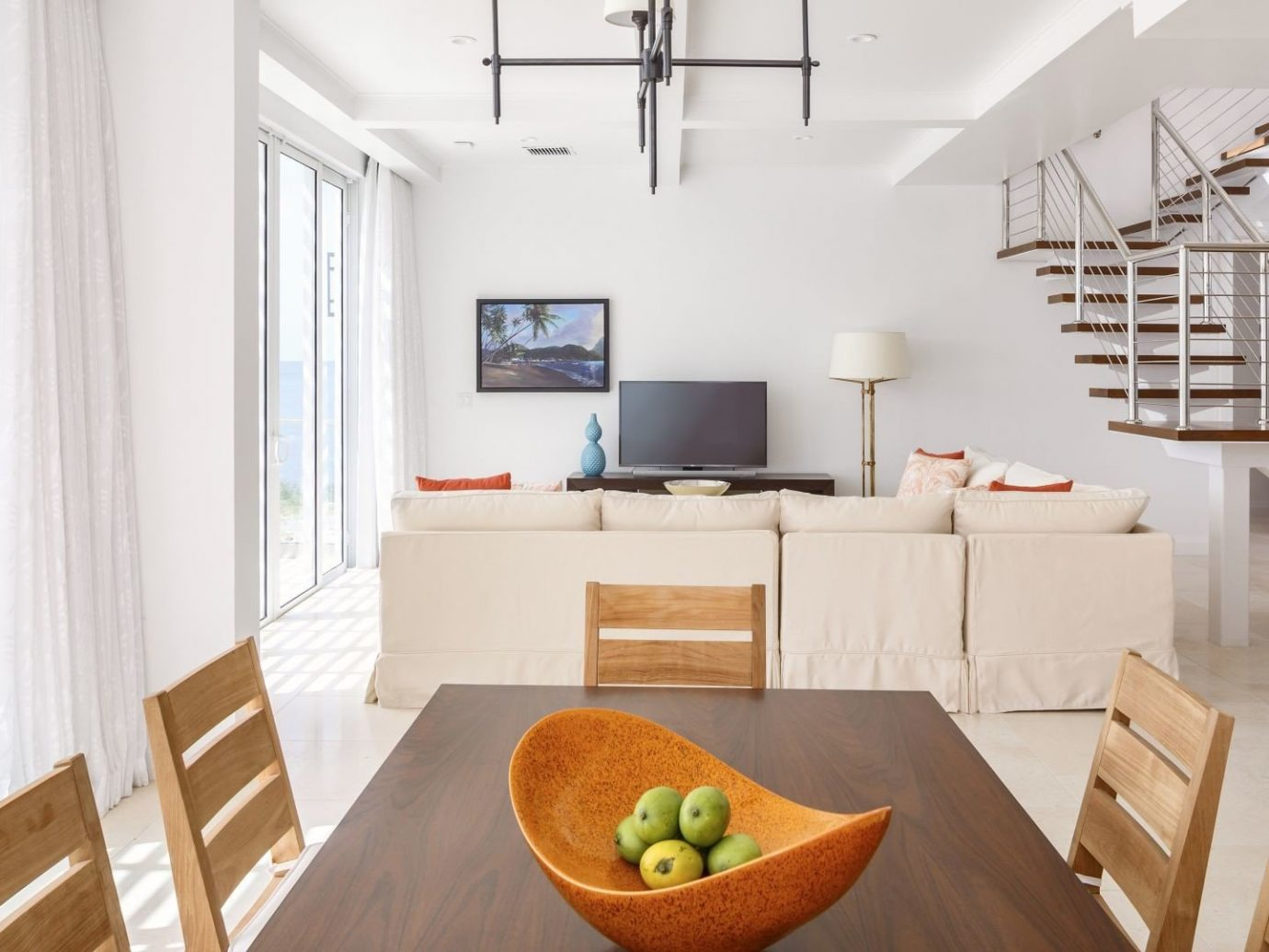 All-Inclusive Resorts Budget caribbean Hotels indoor table floor chair interior design room Architecture window living room real estate wooden Dining loft interior designer house apartment penthouse apartment ceiling daylighting wood furniture
