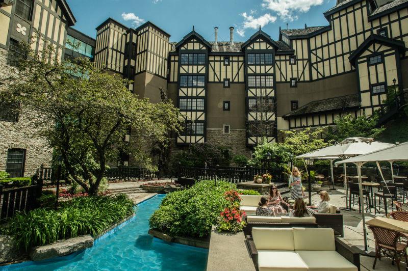 Canada Hotels Toronto mixed use condominium Resort real estate City estate tree hotel plant Courtyard