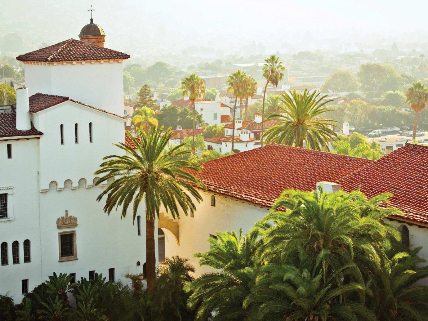 Santa Barbara spanish terra cotta roofs