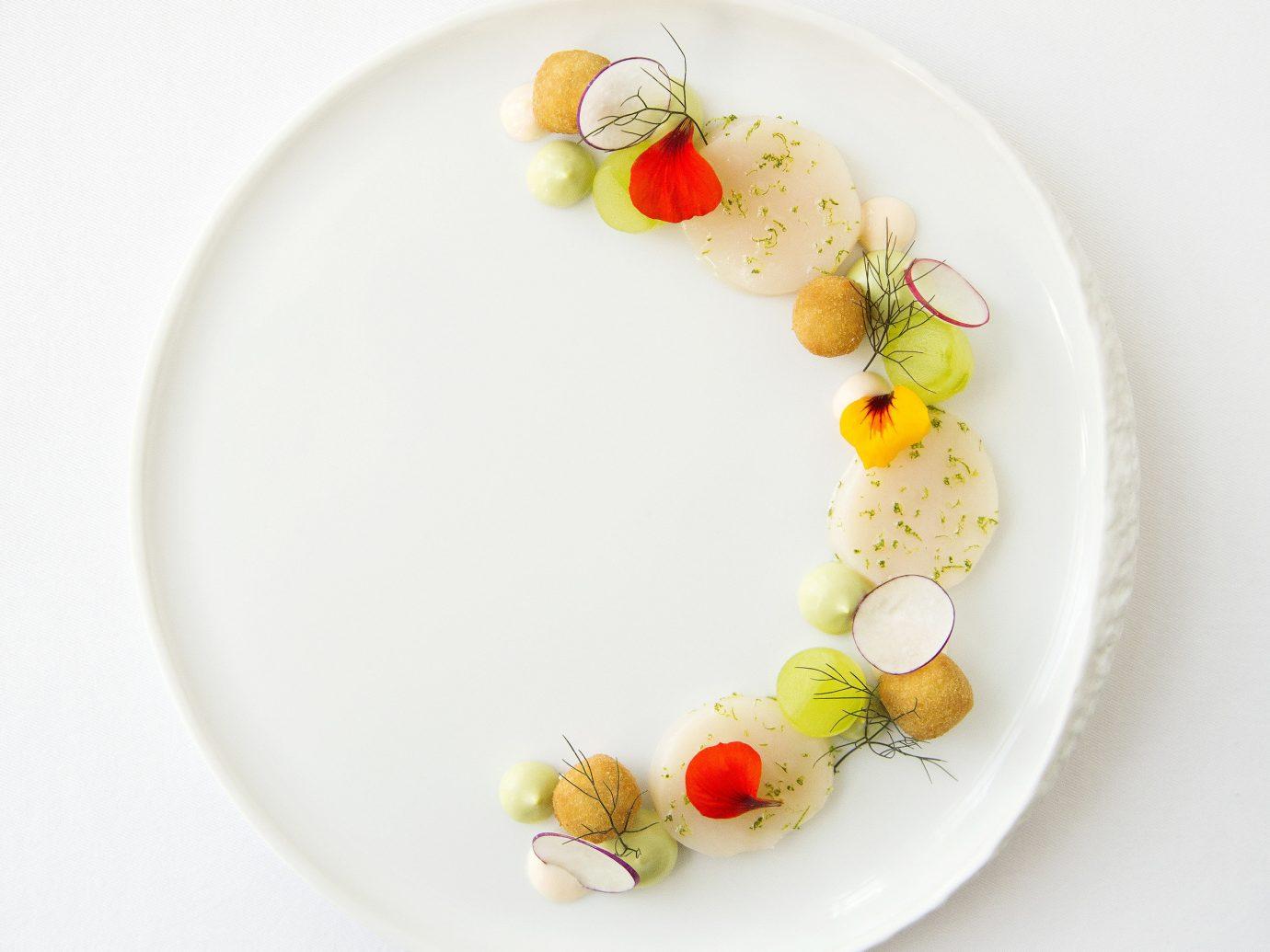 England europe London Luxury Travel Romantic Hotels plate food dishware indoor tableware platter white porcelain serveware ceramic meal