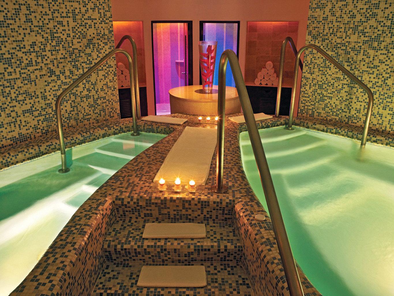 Adult-only All-Inclusive Resorts Cancun Hotels Luxury Mexico Romantic Spa indoor floor swimming pool leisure estate billiard room room recreation room flooring mansion screenshot Resort