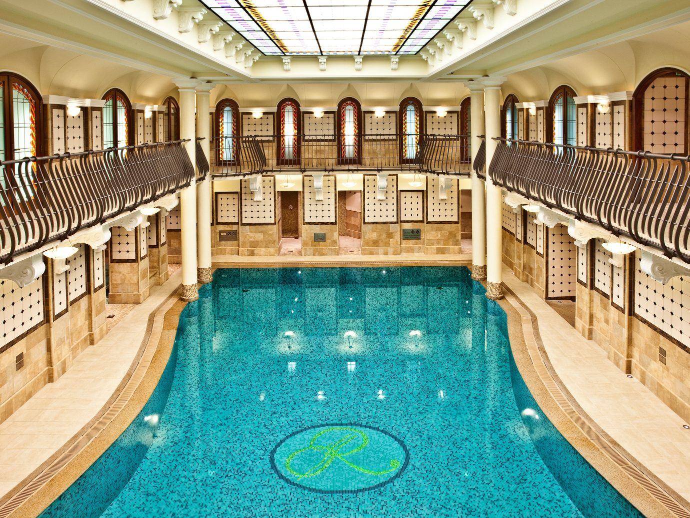 Budapest City Elegant europe Family Historic Hotels Hungary Luxury Pool Trip Ideas indoor floor ceiling swimming pool property estate leisure palace mansion Resort furniture