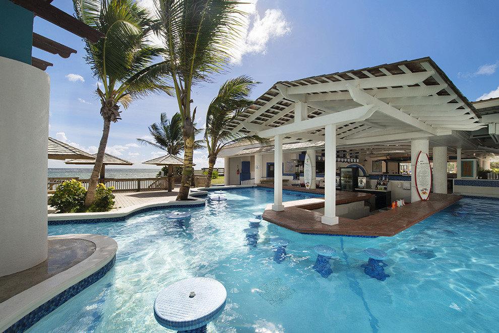 All-Inclusive Resorts Budget caribbean Hotels swimming pool property Resort estate real estate water leisure palm tree arecales resort town Villa home vacation condominium hotel house hacienda