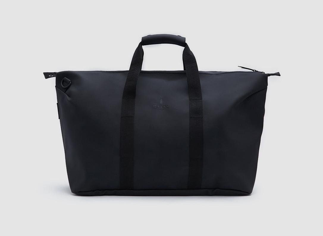 Best Weekend Bags Rains Weekend Bag in Black