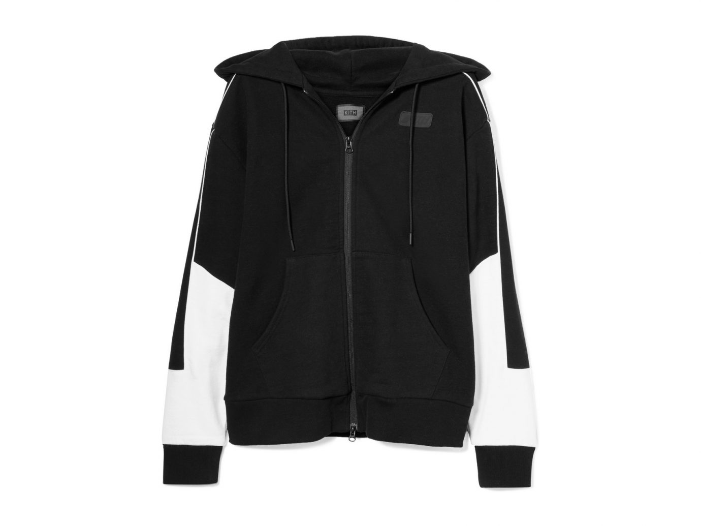 best sweatshirts, Kith Baxter Embroidered cotton-jersey hooded top
