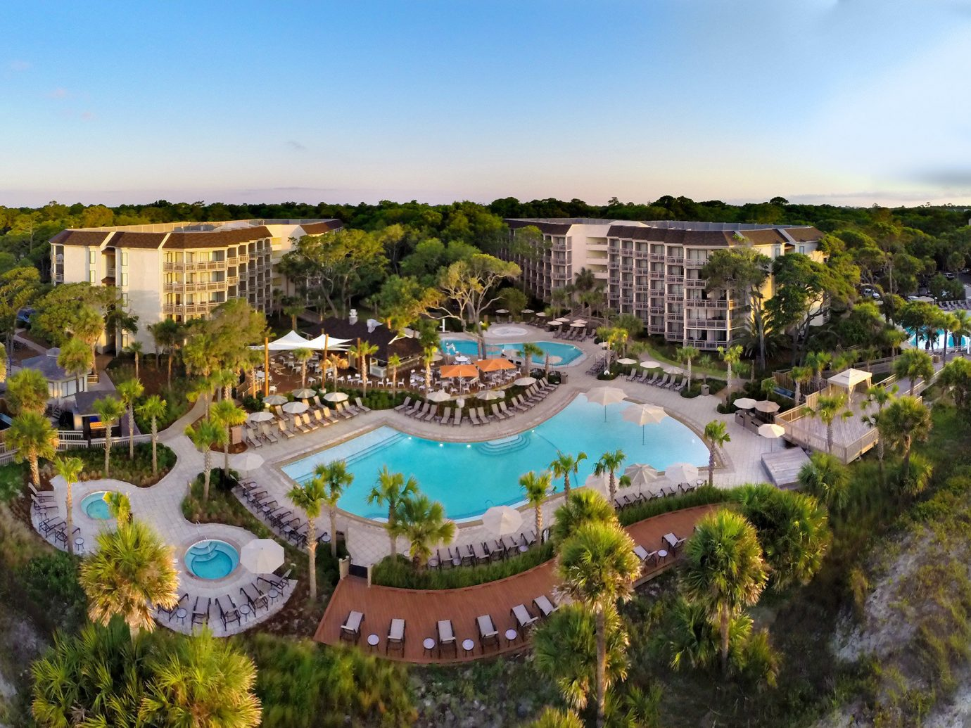 Trip Ideas sky outdoor tree leisure property Resort estate amusement park Water park tourism park recreation swimming pool mansion aerial photography lush