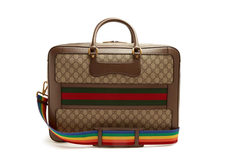 Best Weekend Bags Gucci GG Supreme Echo Canvas Weekend Bag