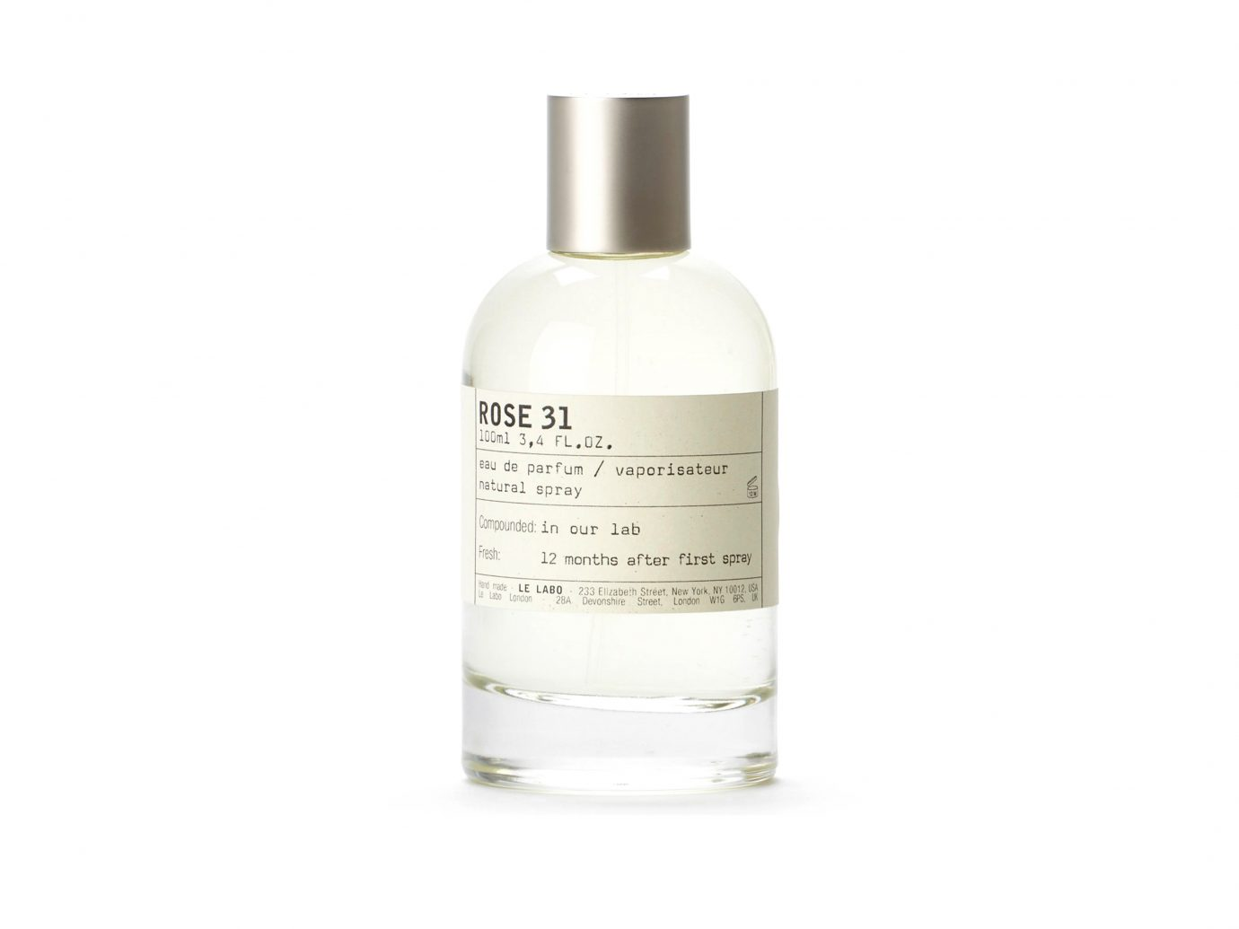 Best Perfumes, Le Labo Rose 31