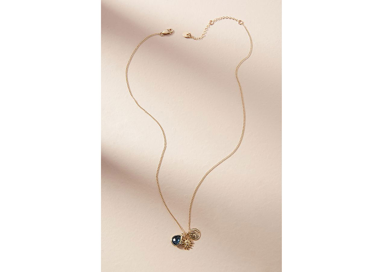 Clustered Coin Necklace