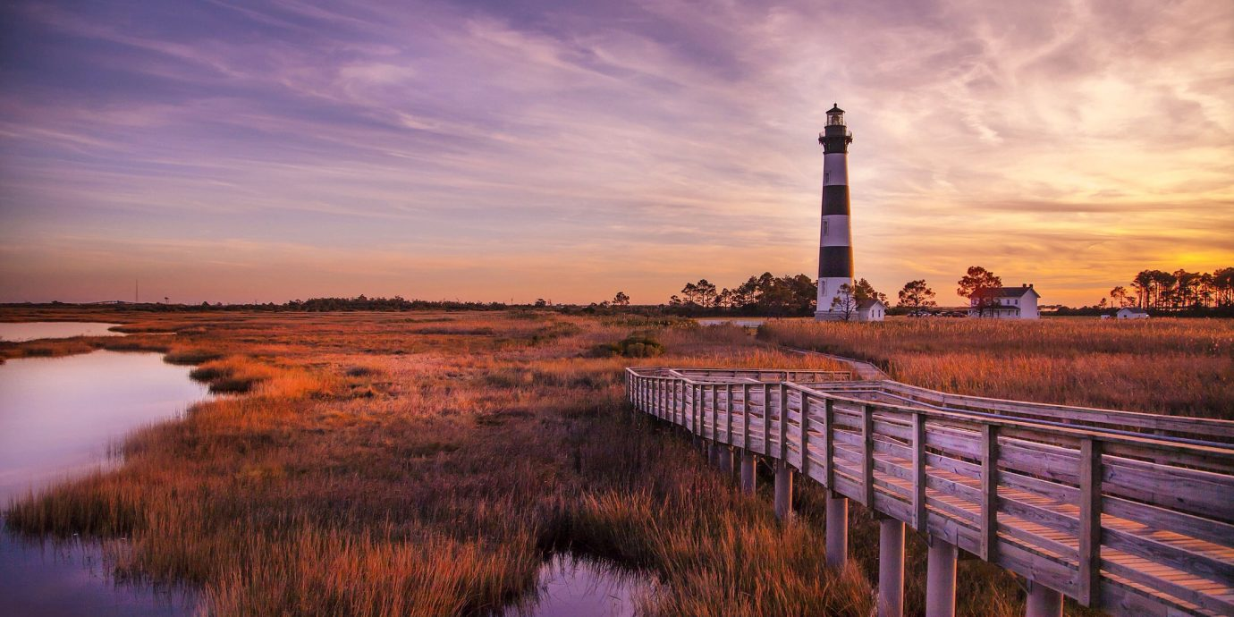 Bodie Island Lighthouse, 6 Long Weekend Getaways to Take This August