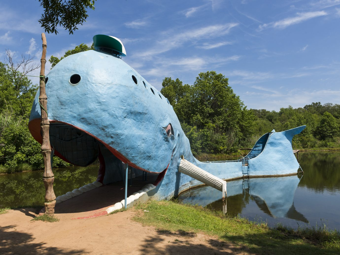 Catoosa, Oklahoma road side attraction Blue Whale