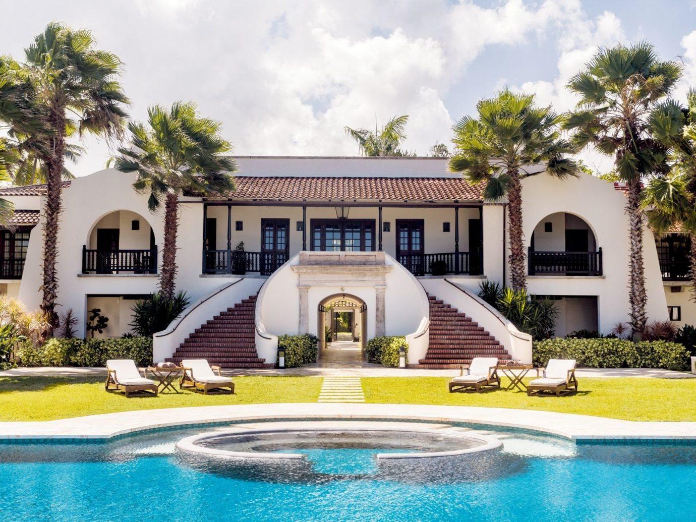 Pool at Dorado Beach, a Ritz-Carlton Reserve, Puerto Rico, Caribbean