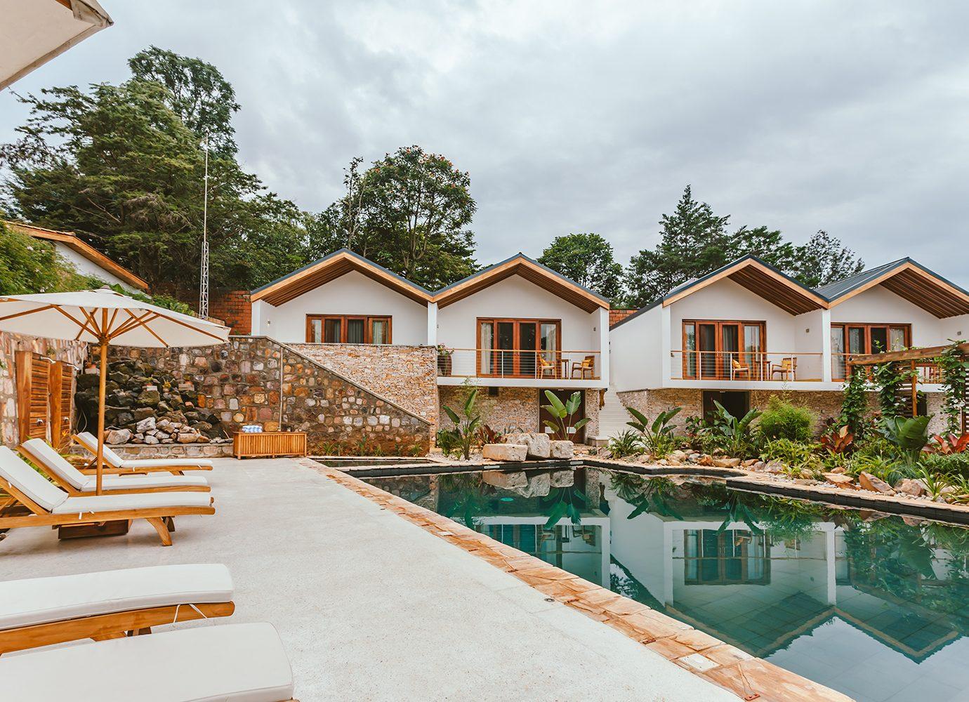 The Retreat at Heaven Rwanda pool