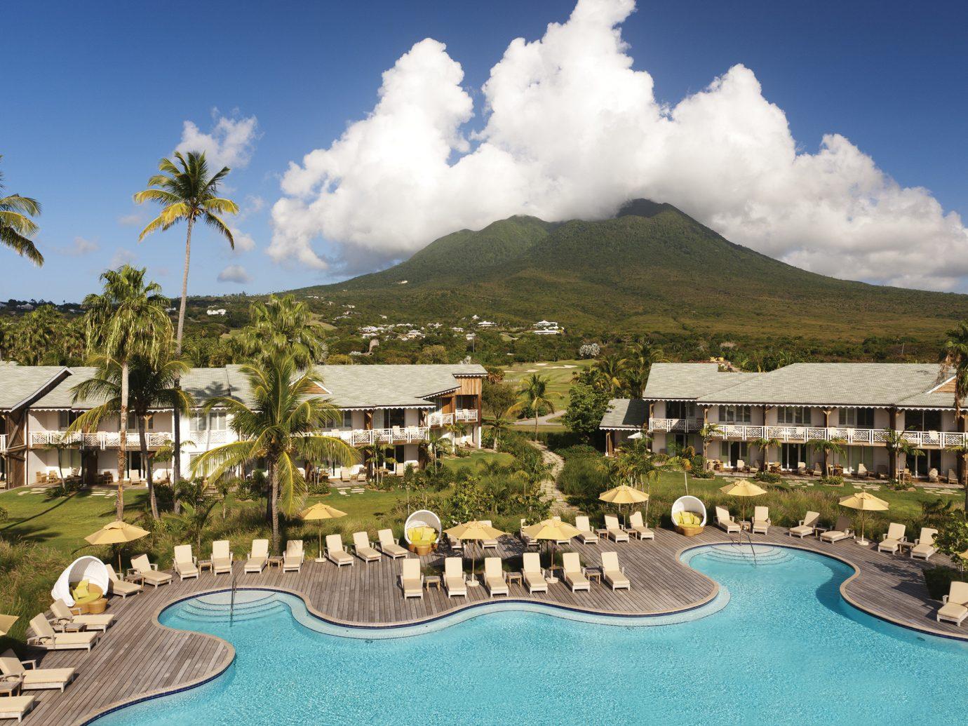 Pool at Four Seasons Resort Nevis, Caribbean