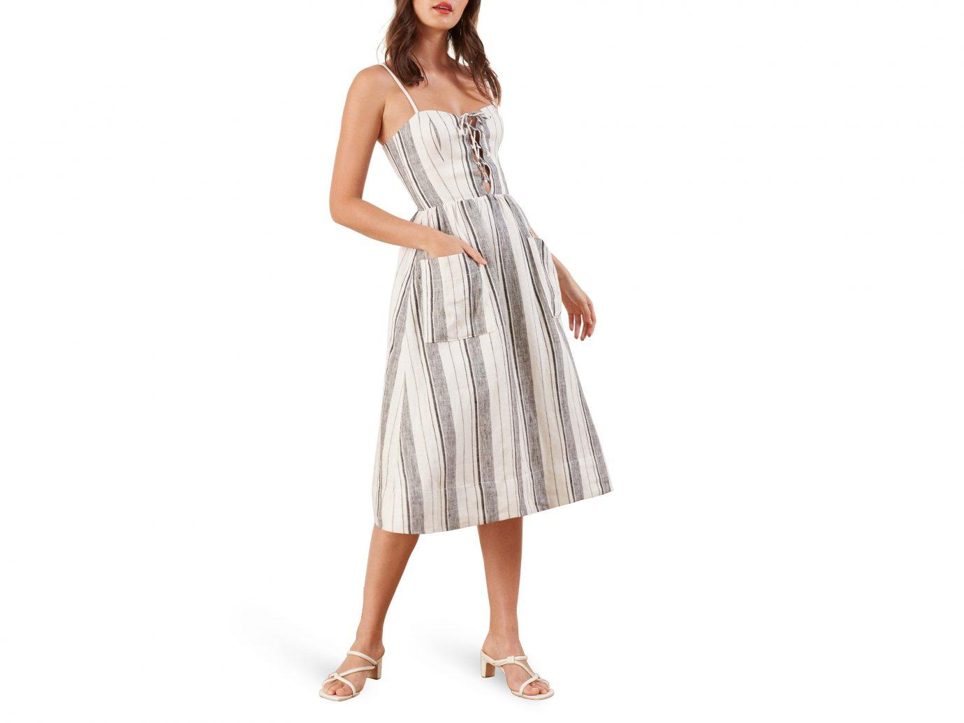 Reformation Striped Dress