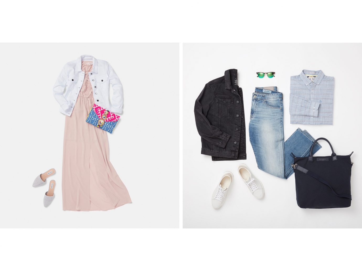 joshua tree outfit collage, what to wear in joshua tree
