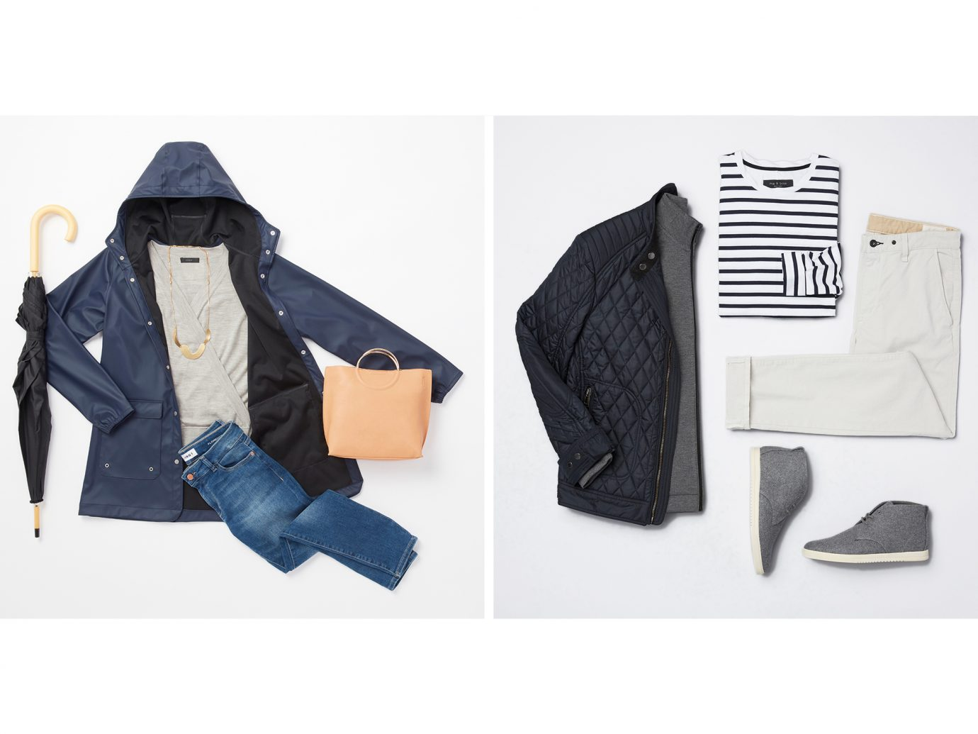Tofino outfit collage, what to wear in tofino