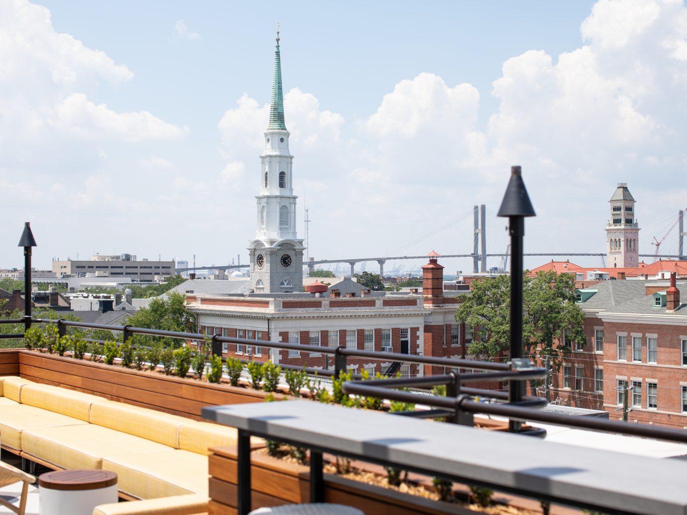 Peregrin Rooftop Pool & Bar at the Perry Lane Hotel, Savannah