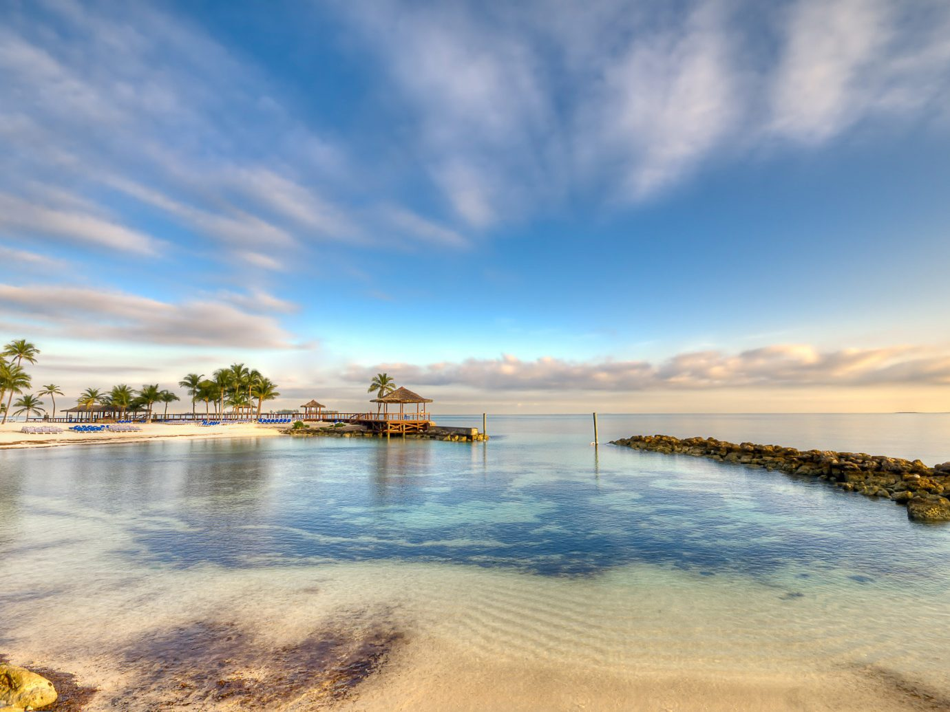 Beach in Nassau Bahamas