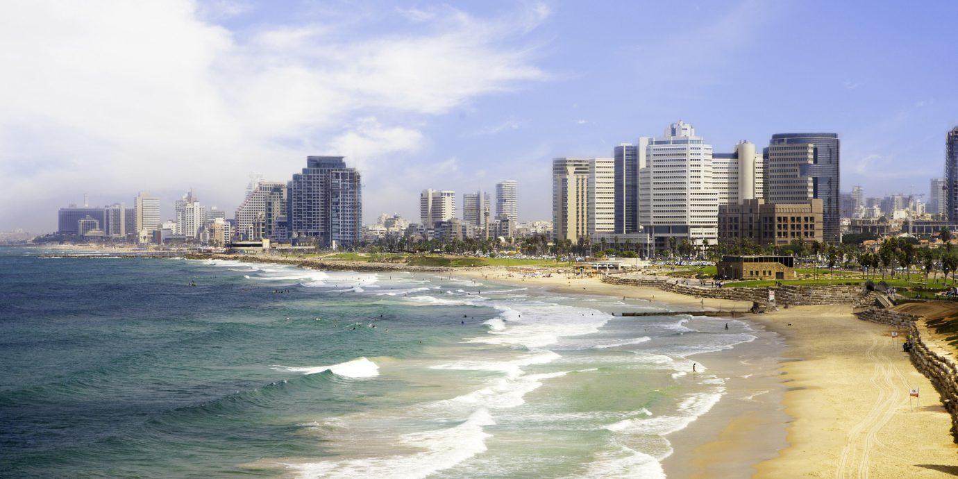 Beach in Tel Aviv Isreal