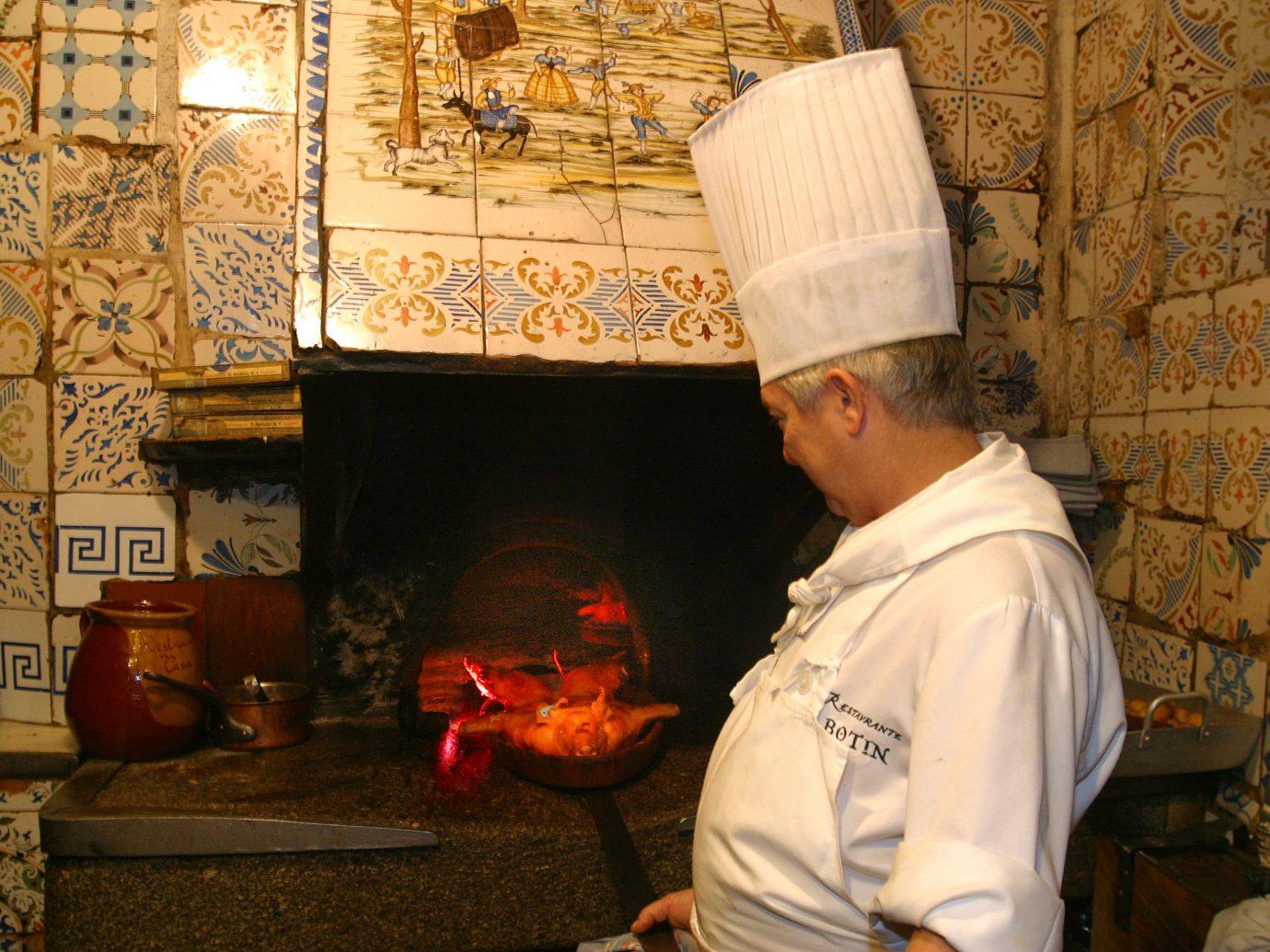 chef at Botin restaurant