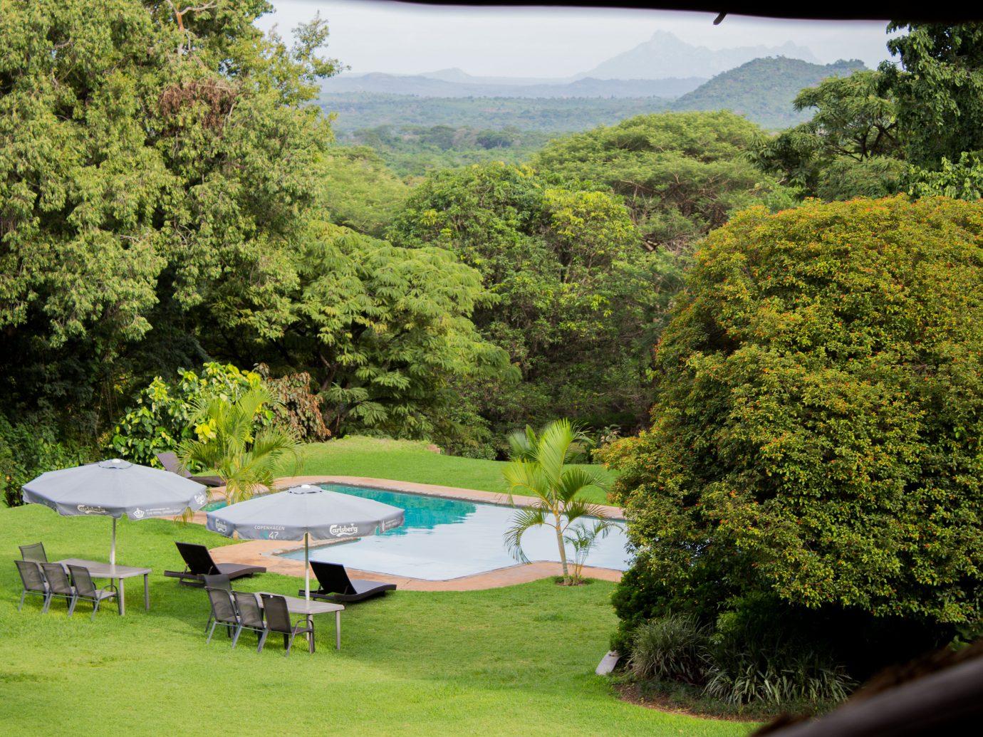 Pool at Kumbali Lodge
