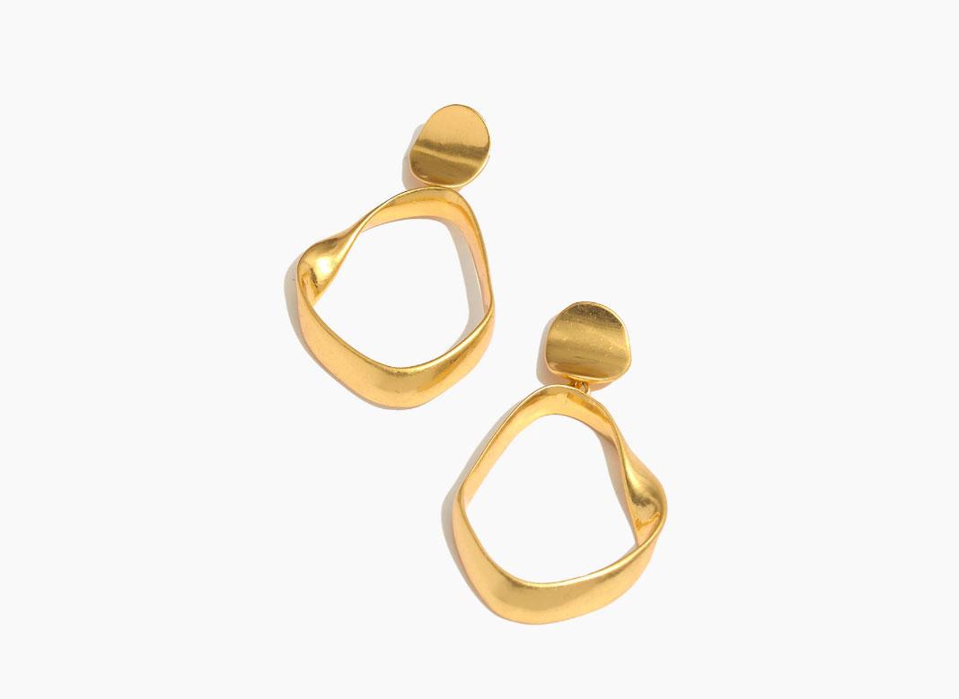 Madewell Observatory Hoop Earrings