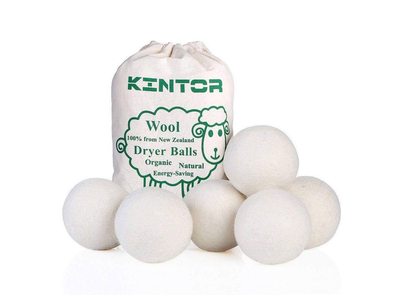 KINTOR Wool Dryer Balls