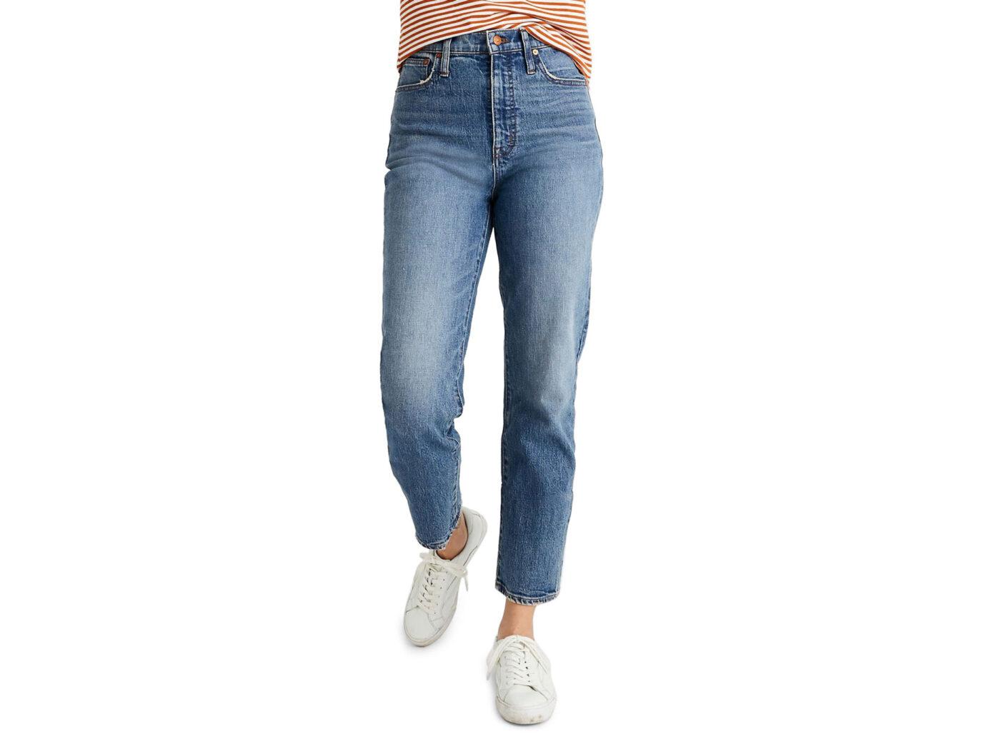 Madewell Classic Straight Leg Jeans