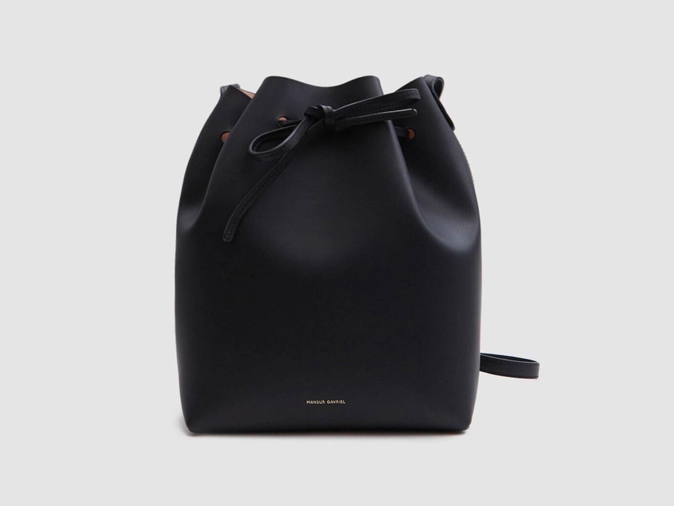 Mansur Gavriel Vegetable Tanned Bucket Bag