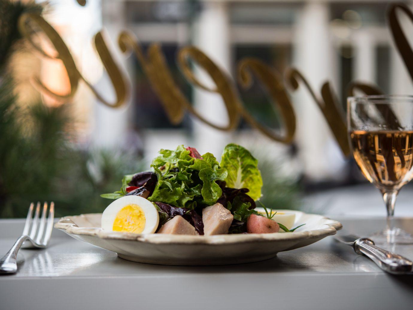 Salad Niçoise at La Mercerie