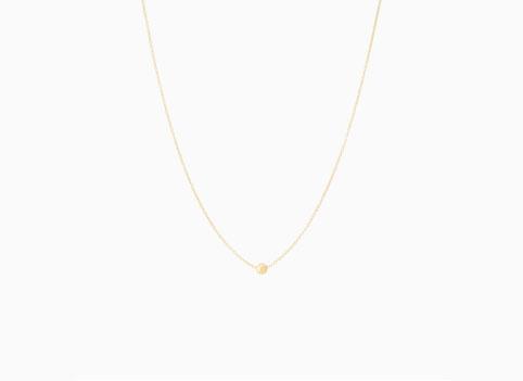 Mejuri Single Sphere Necklace