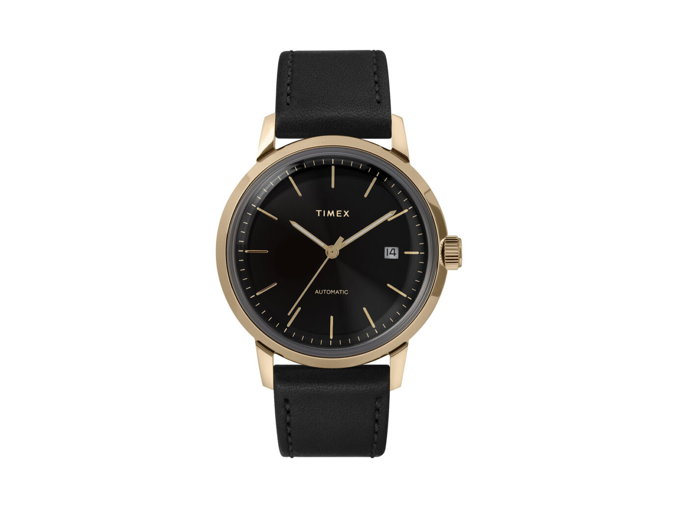 Men's Timex Marlin 40mm Automatic Leather Strap Watch