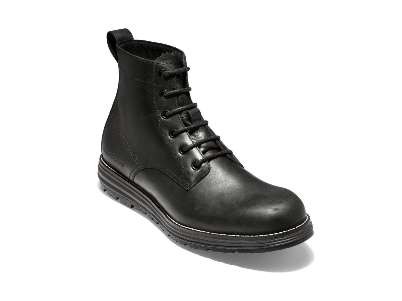 Cole Hann Original Grand Waterproof Plain Toe boots