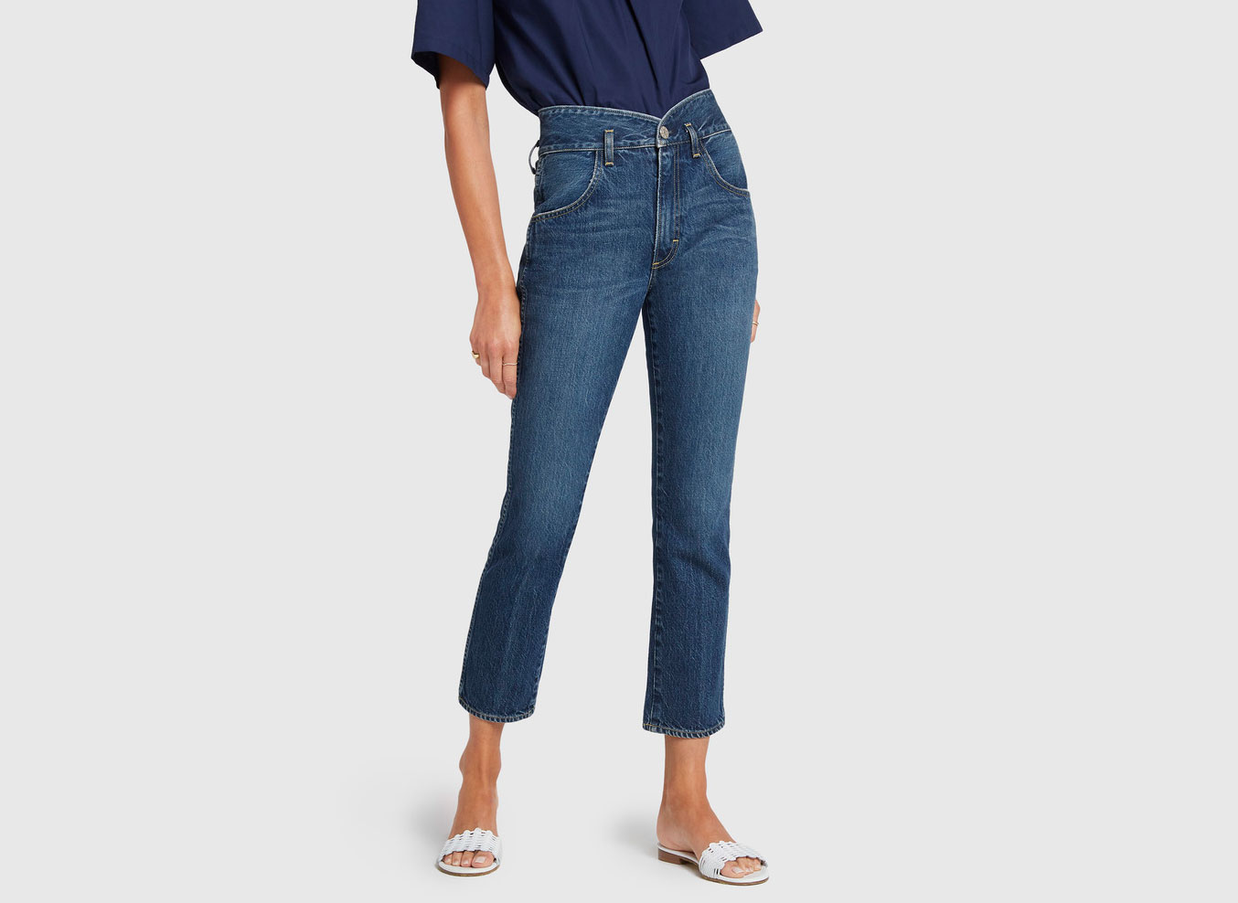 AMO Tulip High Rise Slim Fit Jeans