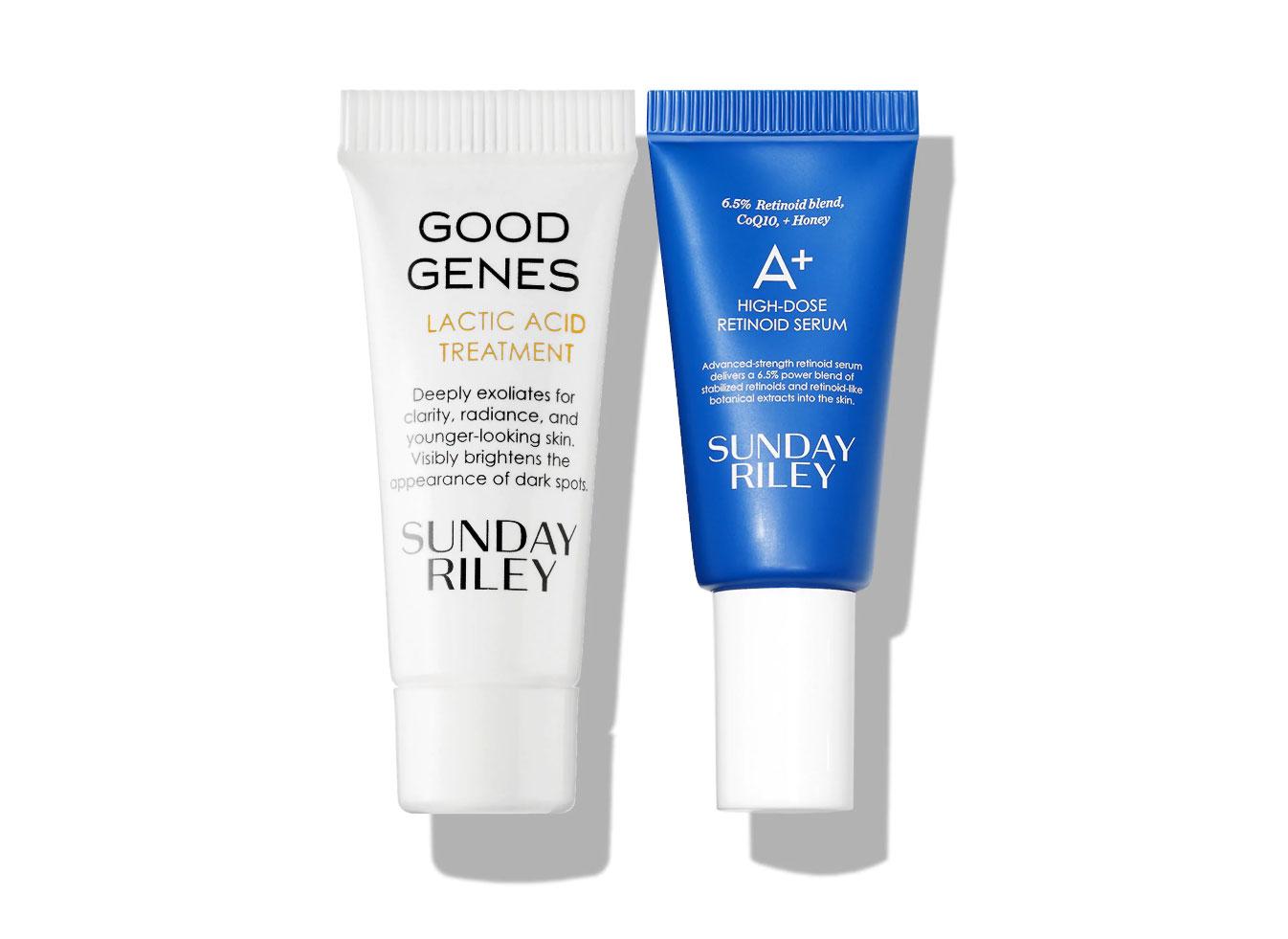 Sunday Riley Good Genes Treatment & A+ High-Dose Retinoid Serum