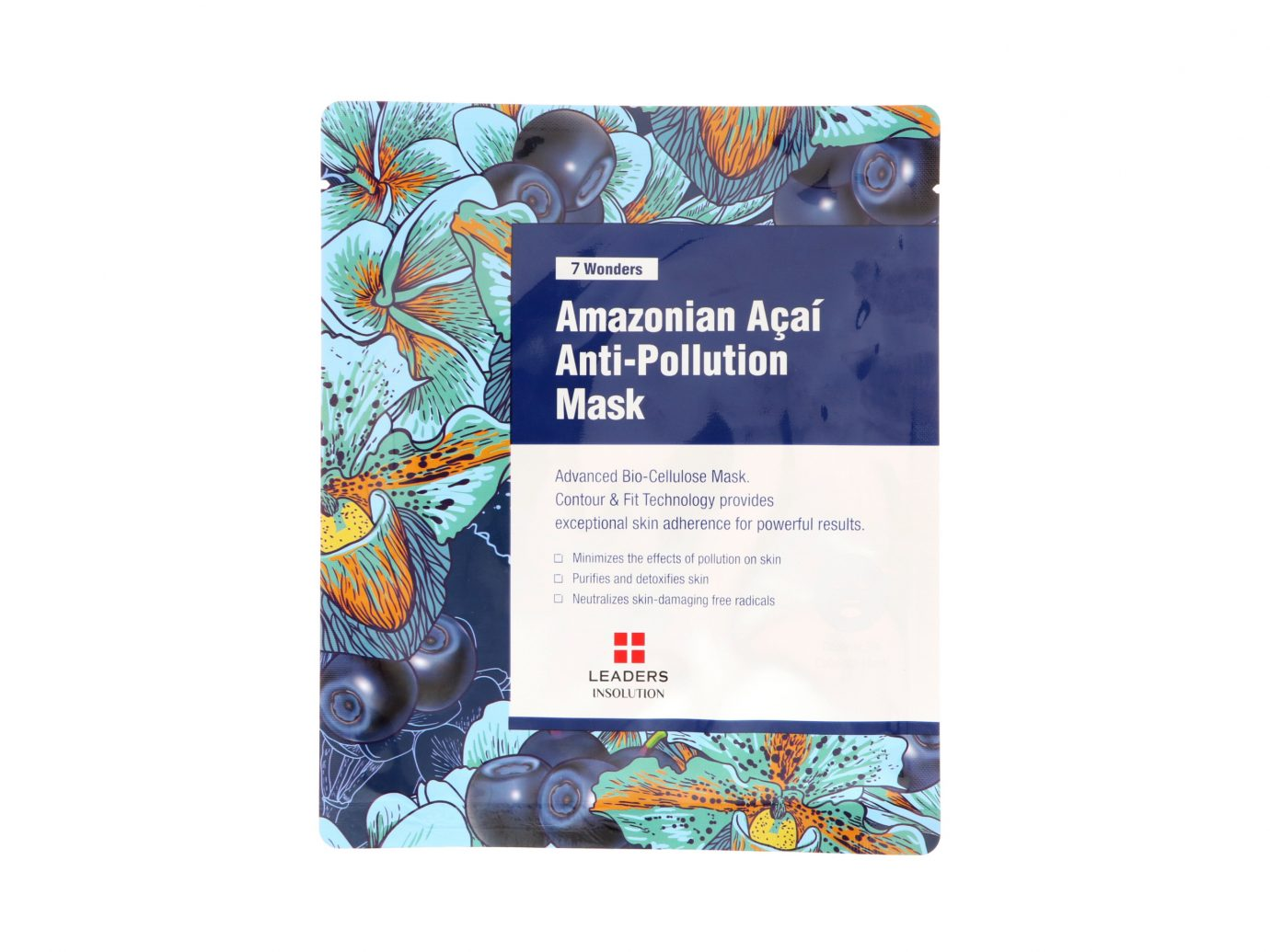 Leaders Cosmetics 7 Wonders Amazonian Acai Anti-Pollution Mask
