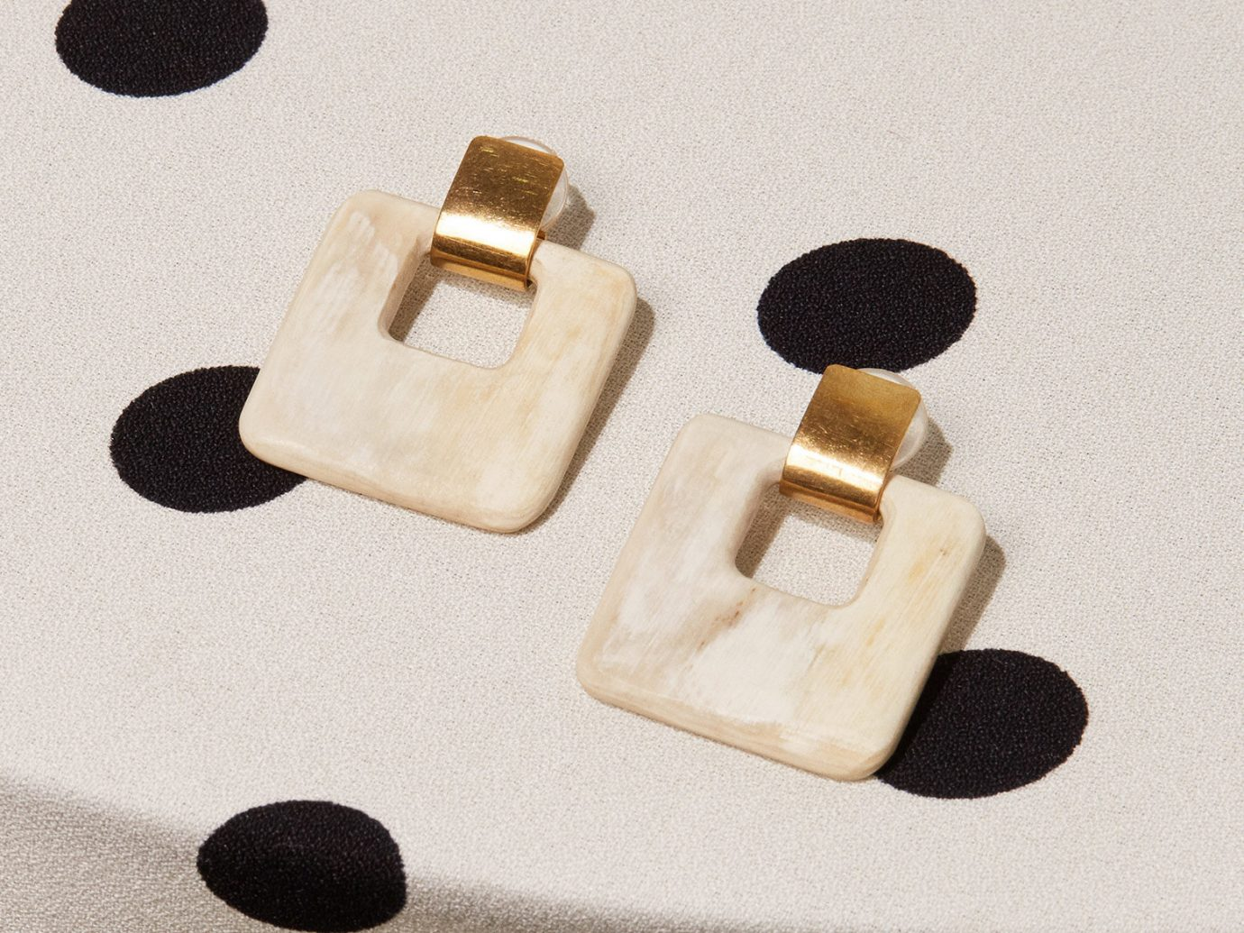 Reformation Soko Horn Door Knocker Earrin