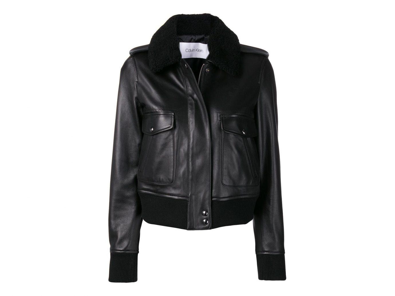 Calvin Klein concealed zip bombeer jacket