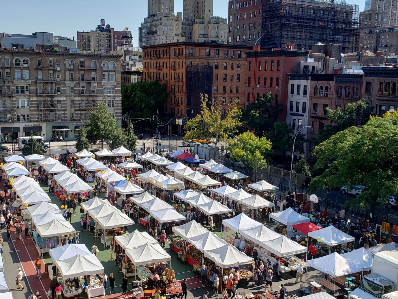 Scary Bazaar tents