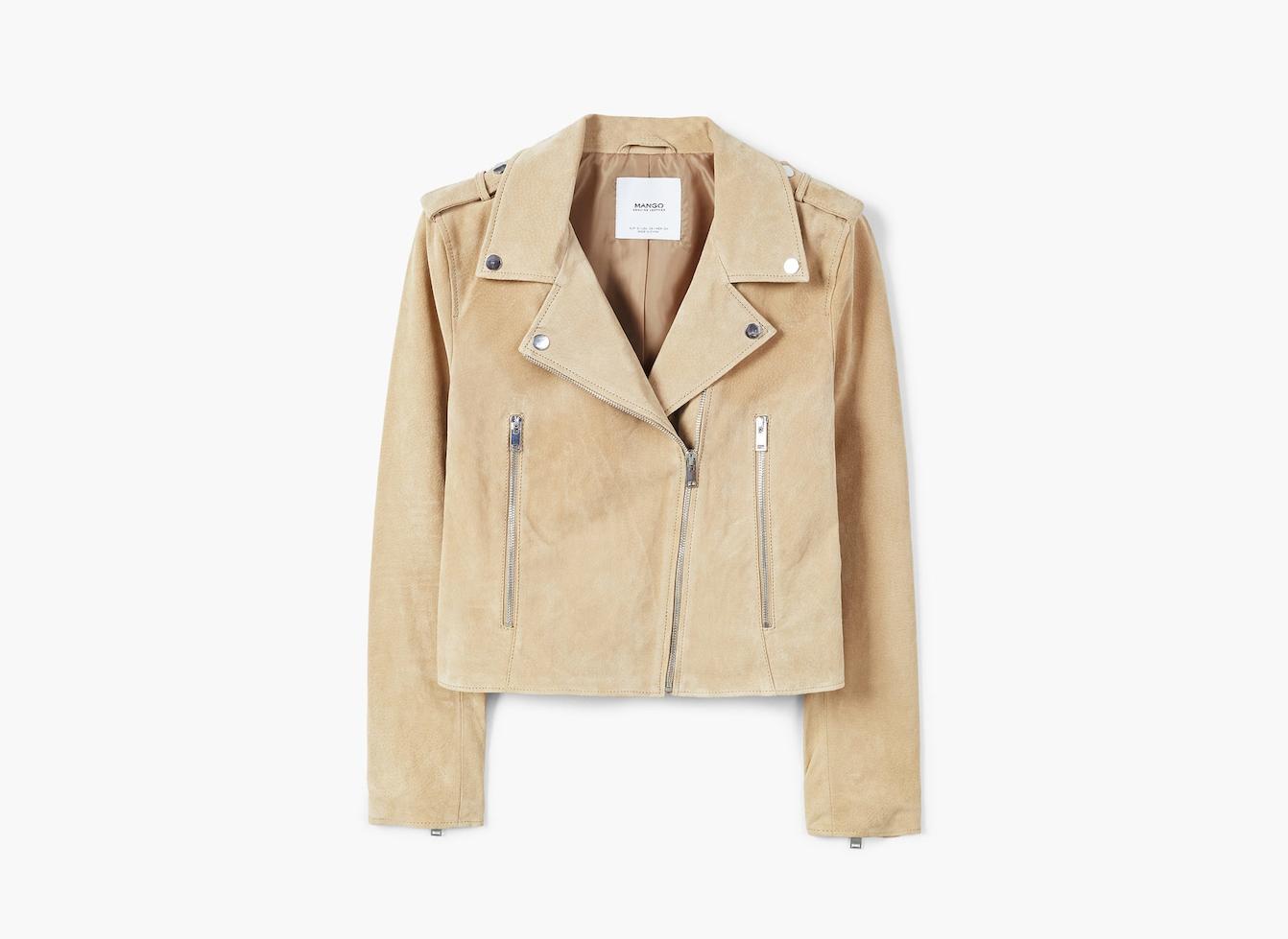 Suede biker jacket on sale