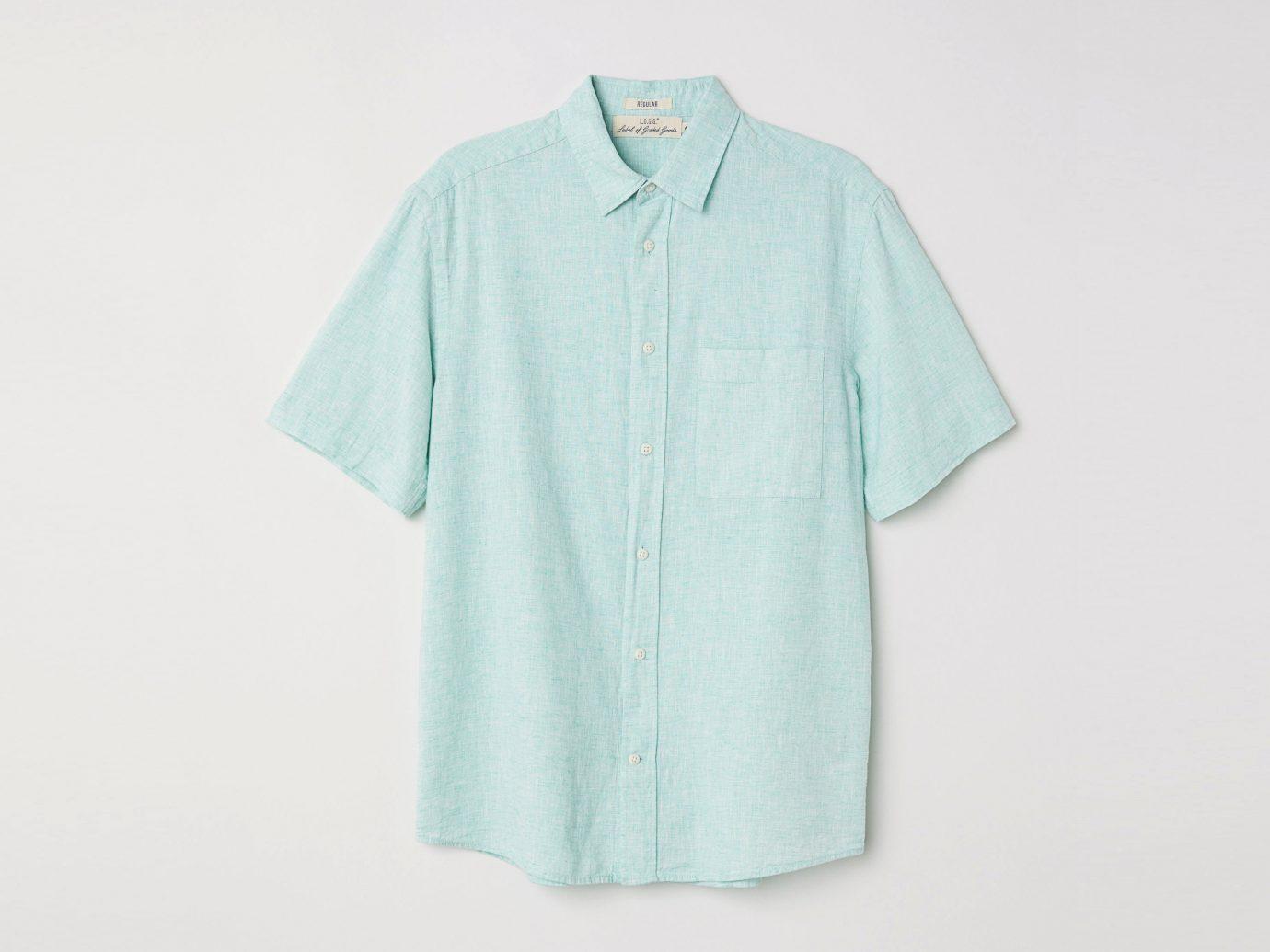 Button Up Short-sleeve Shirt