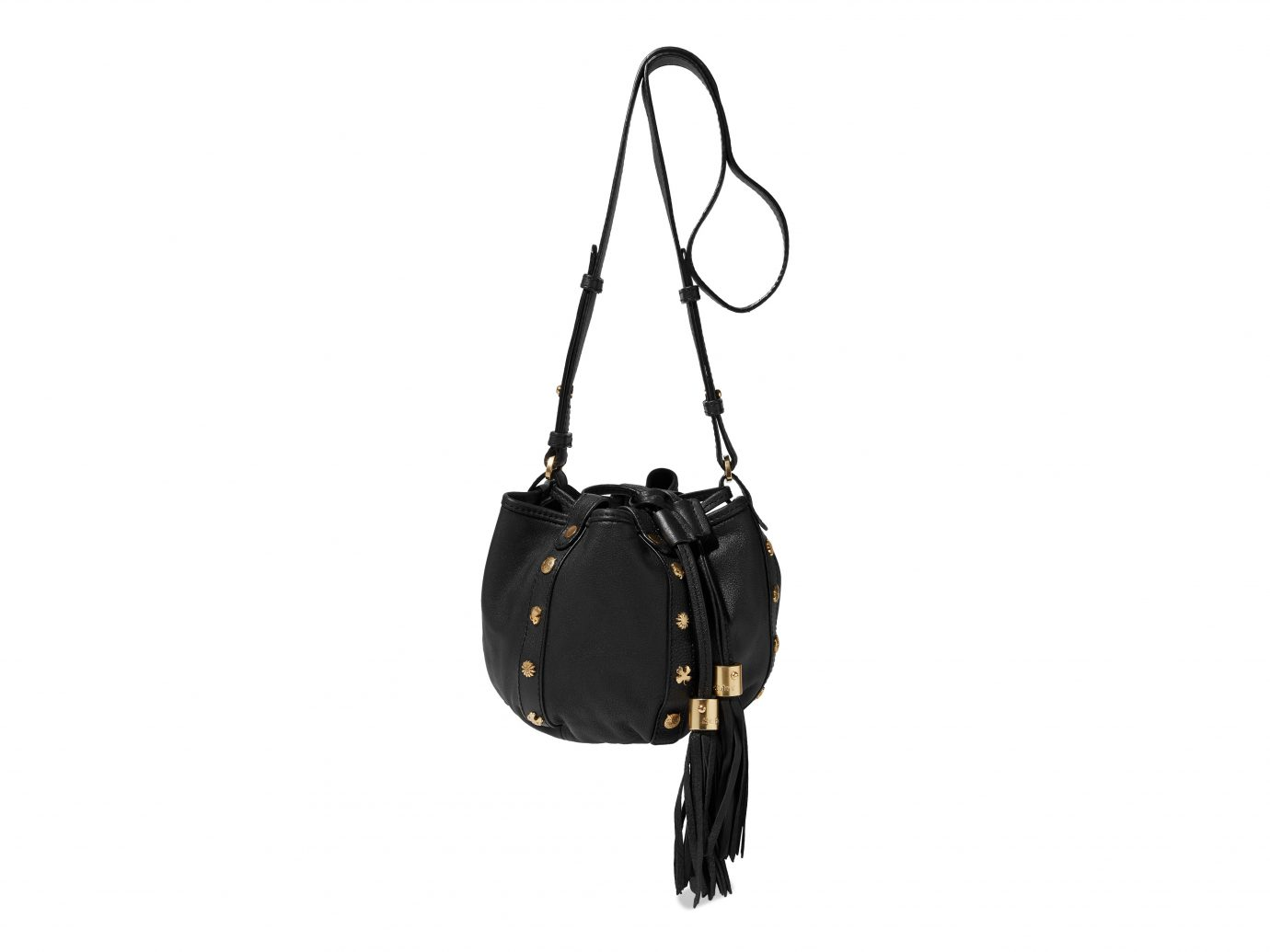 See By Chloe Studded textured-leather bucket bag