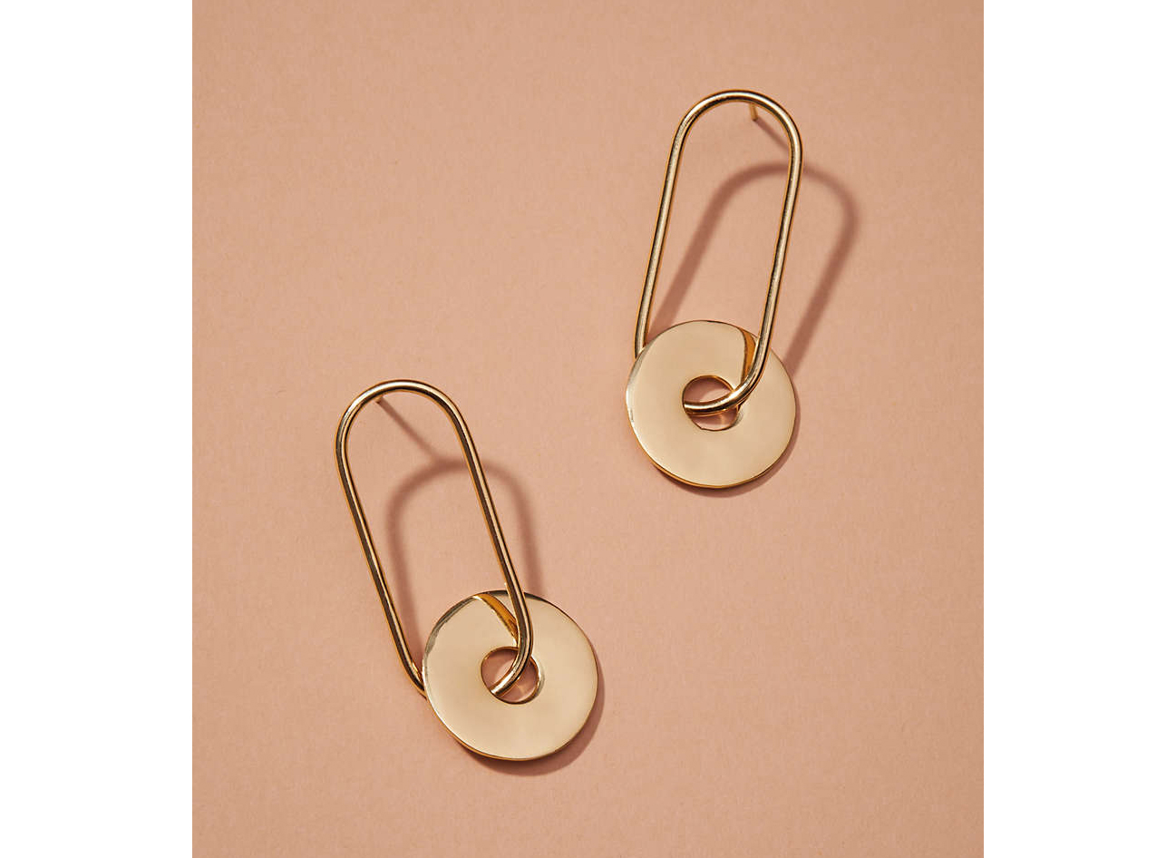 Nectar Nectar Circle Link Earrings