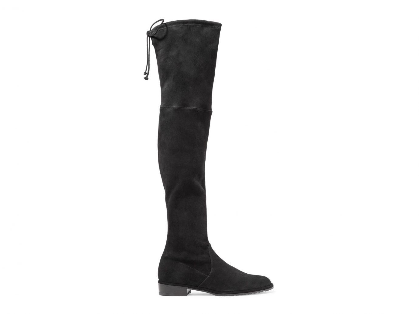 STUART WEITZMAN Lowland suede over-the-knee boots